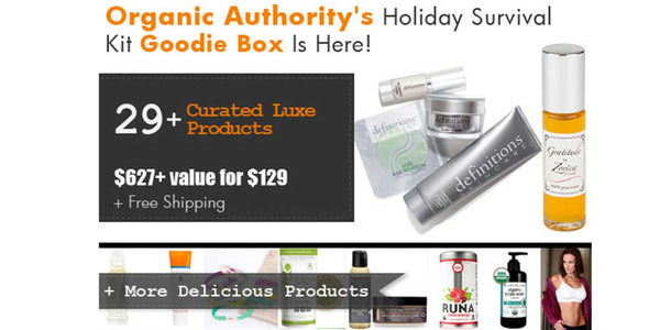 Vitaleaf is part of Organic Authority's Goodie Box - Holiday Survival Kit