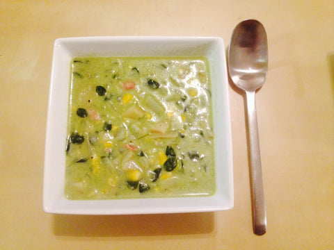 Cream of Moringa Soup