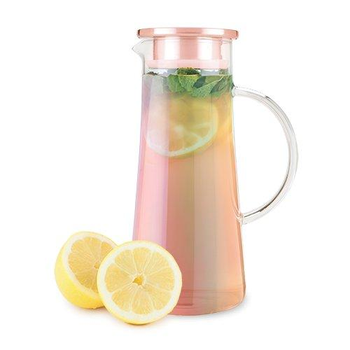 Pinky Up - Charlie Glass Iced Tea Carafe