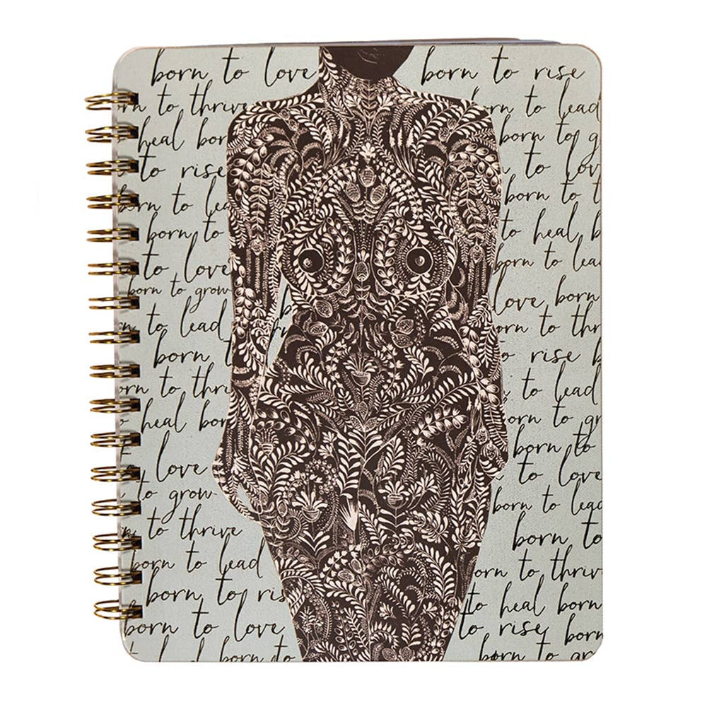 Born to Love Spiral Notebook