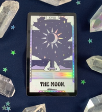 Load image into Gallery viewer, Holographic Tarot Card Stickers