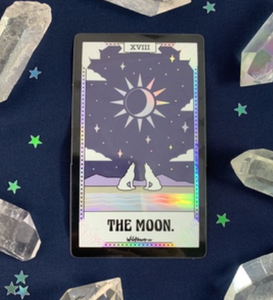 Holographic Tarot Card Stickers