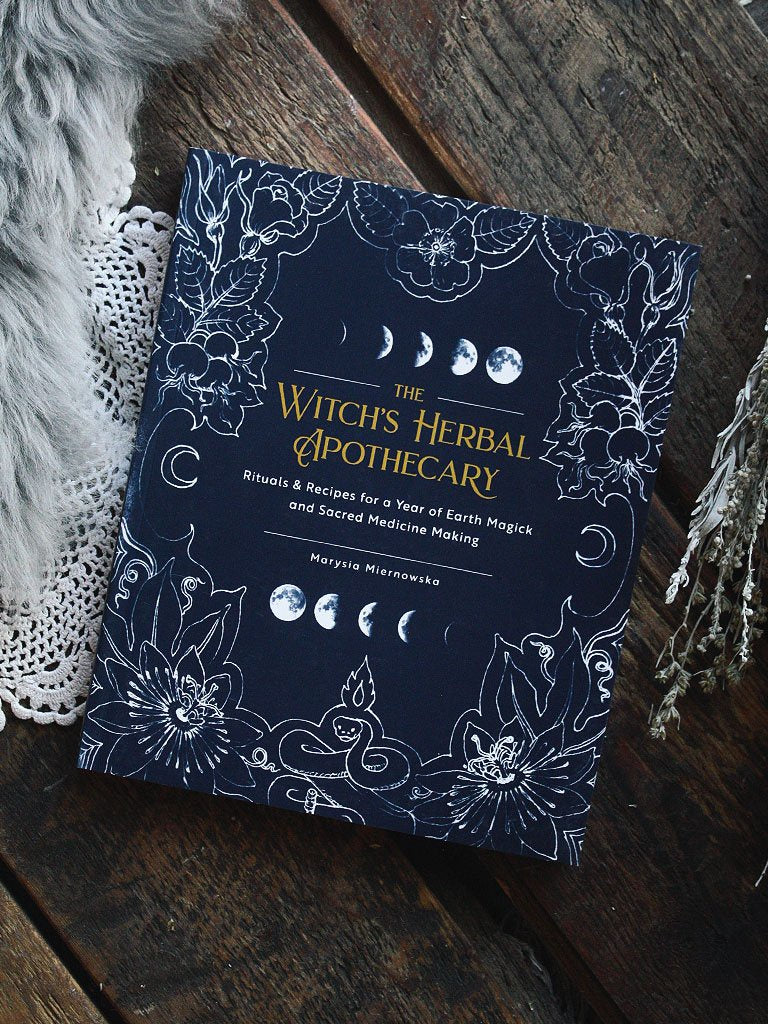 Witch's Herbal Apothecary Book