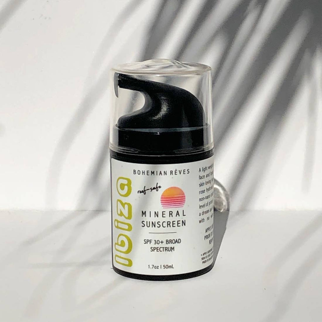 Ibiza SPF 30+ Mineral Sunscreen REEF SAFE + VEGAN