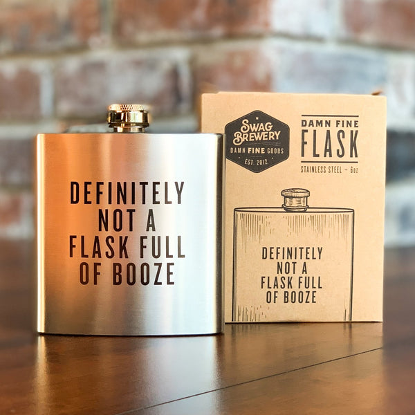 Back Country Gift Flask