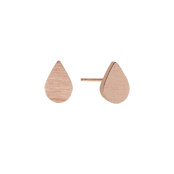 Tears of Joy Earrings in Rose Gold