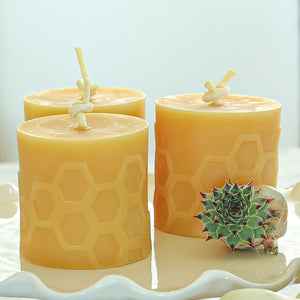 Beeswax Candles Made In Canada With Free Shipping