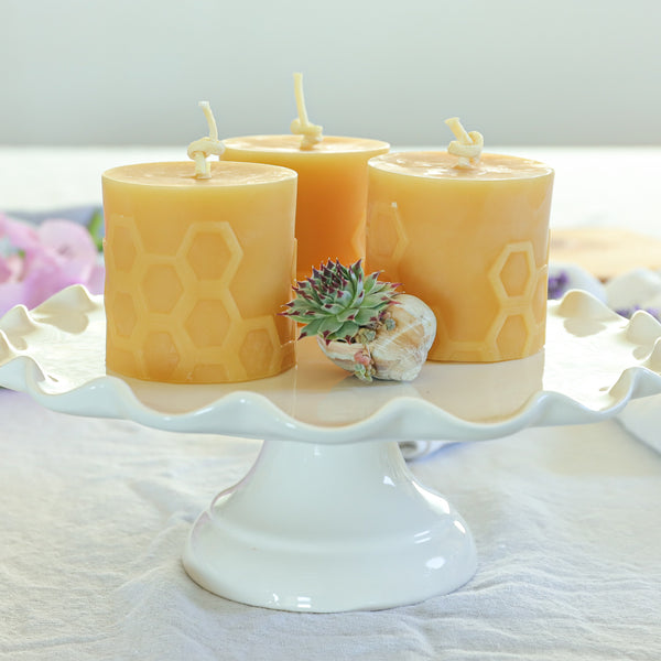 Honeycomb Beeswax Candles Are The Most Instagramable Candles Ever!
