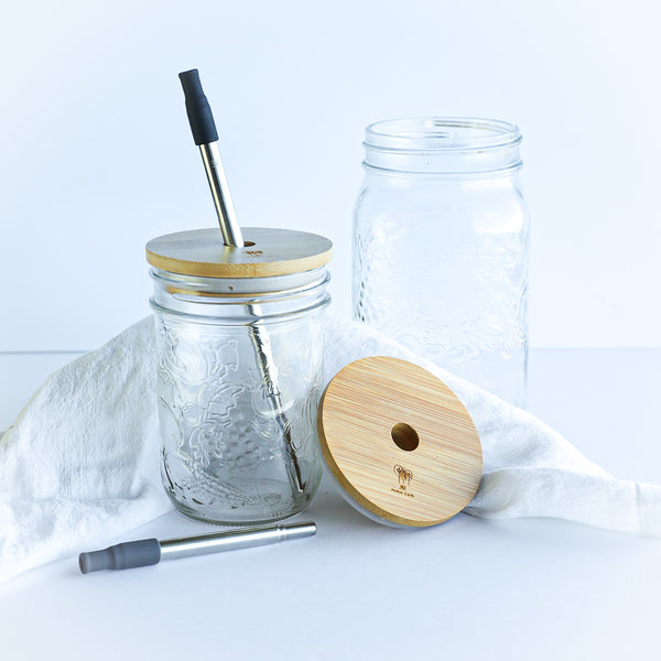 Ecofriendly Wide Mouth Mason Jar Toppers