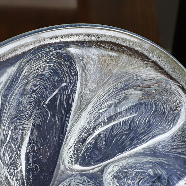 French Etched Oyster Plate