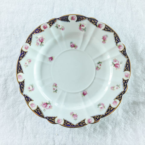 Antique John W Randall by Blairs China Plate Set