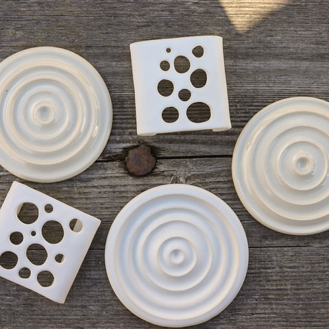 Ceramic Soap Dishes by Sabrina Lecado on Vancouver Island