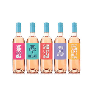 Funny Wine Labels for Every Day