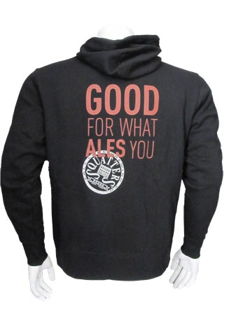 """Good for What Ales You"" Zip Hoodie"