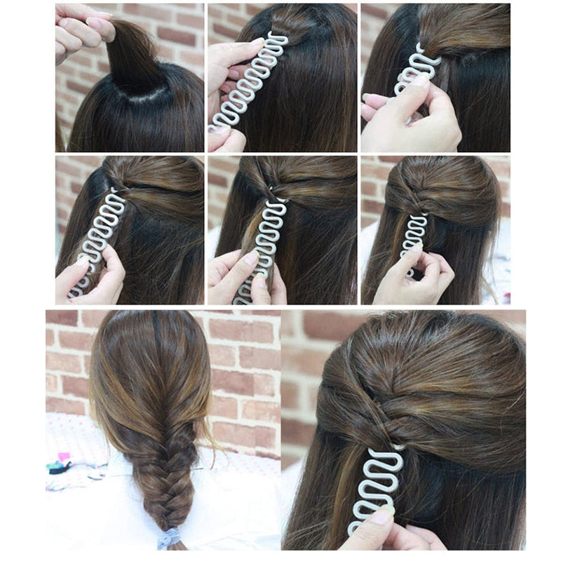 French Hair Braiding Twist