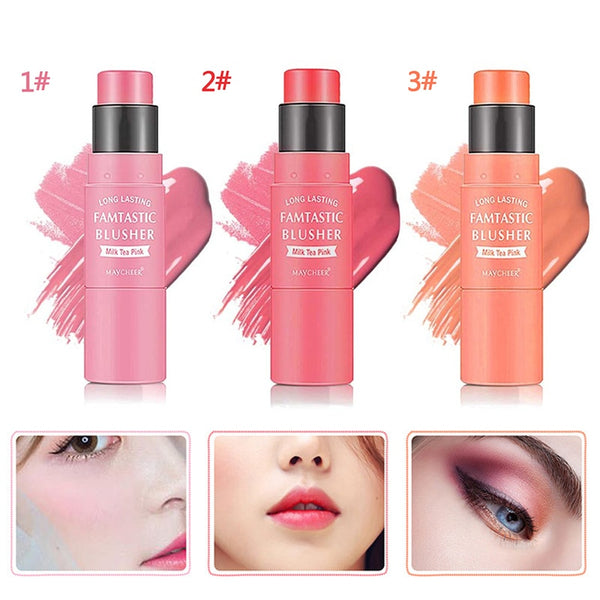 Portable Double Head Blush Stick