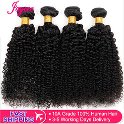 Jaycee Afro bundles deal Raw Indian Hair Bundles