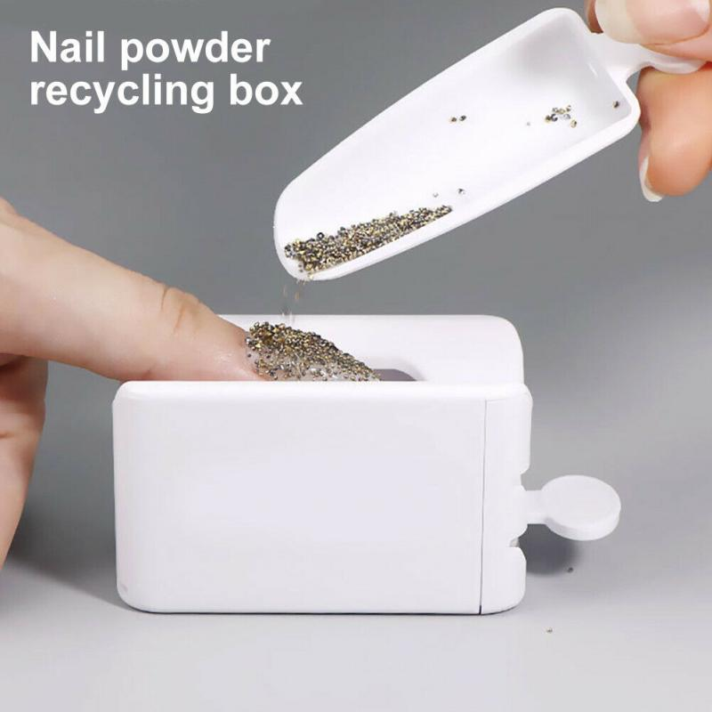 Nail Glitter Powder Storage Box