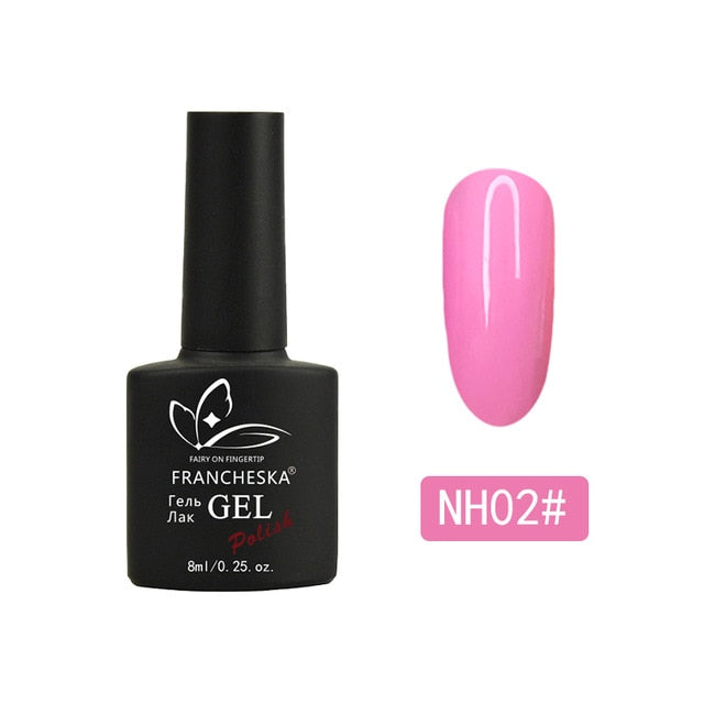 Nail Polish Neon Color Gel