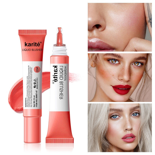 Long Lasting Natural Liquid Blush Waterproof