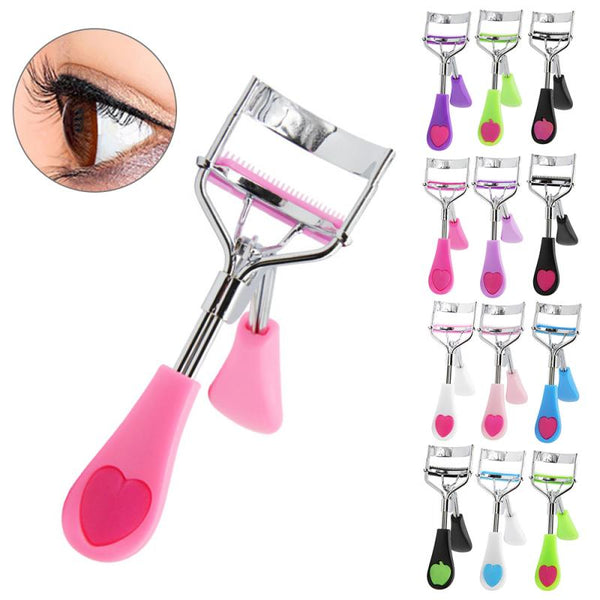 Handle With Brush Eyelash Curler