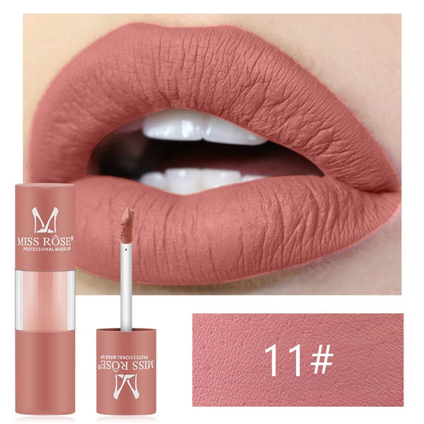 Liquid Lip Gloss Matte Waterproof