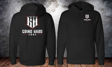 Black Grind Hard ammo hoodies