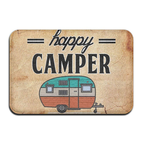 Happy Camper Floor mat