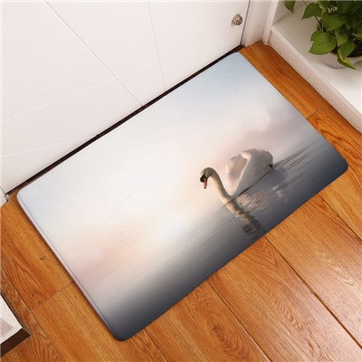 Indoor Door Mat Flannel Soft Pets Rug