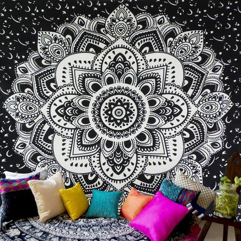 Floral Carpet Wall Hanging Tapestry