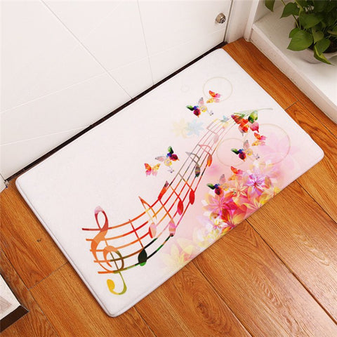 Europe Fashion Vinyl Record Pattern Mats