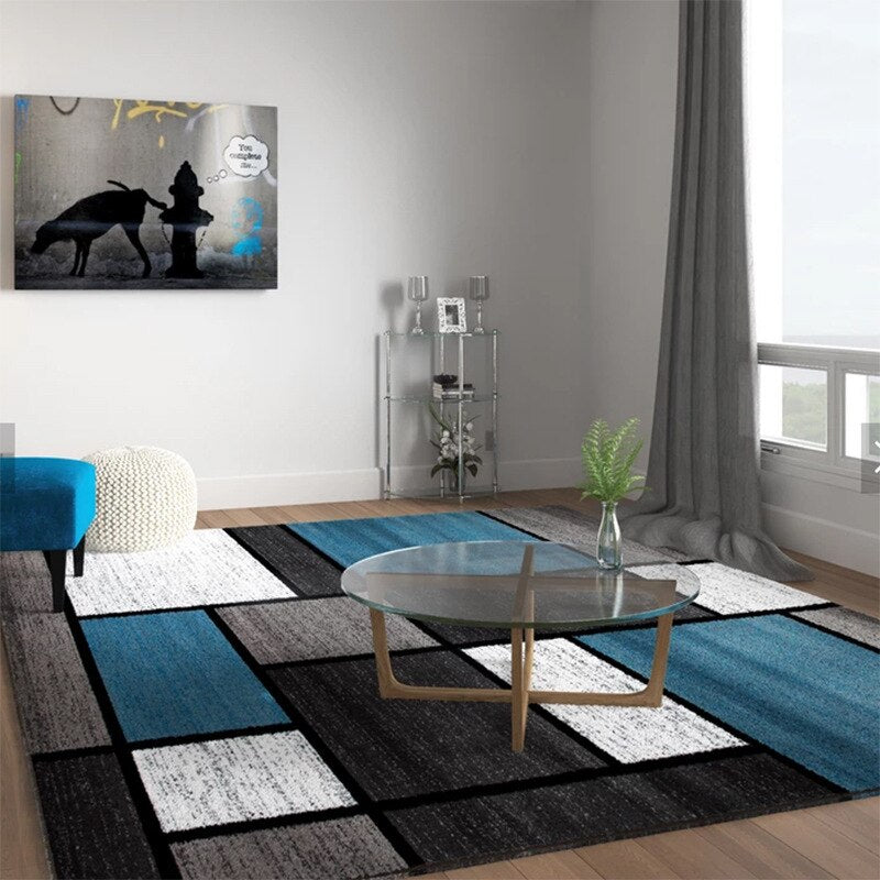 Nordic minimalist abstract Carpets for Living room