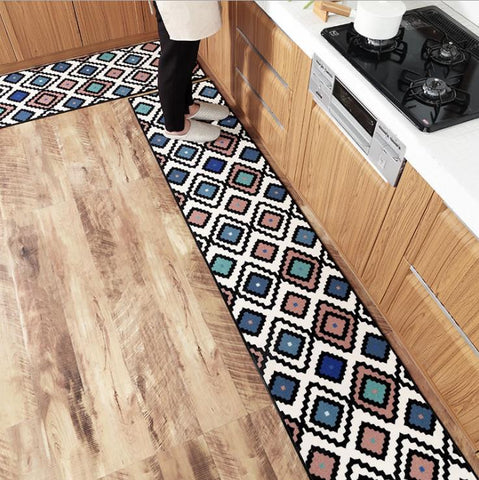 Long Nylon Kitchen Mat