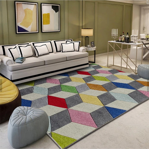 High Quality Modern Simple Nordic Art Carpet