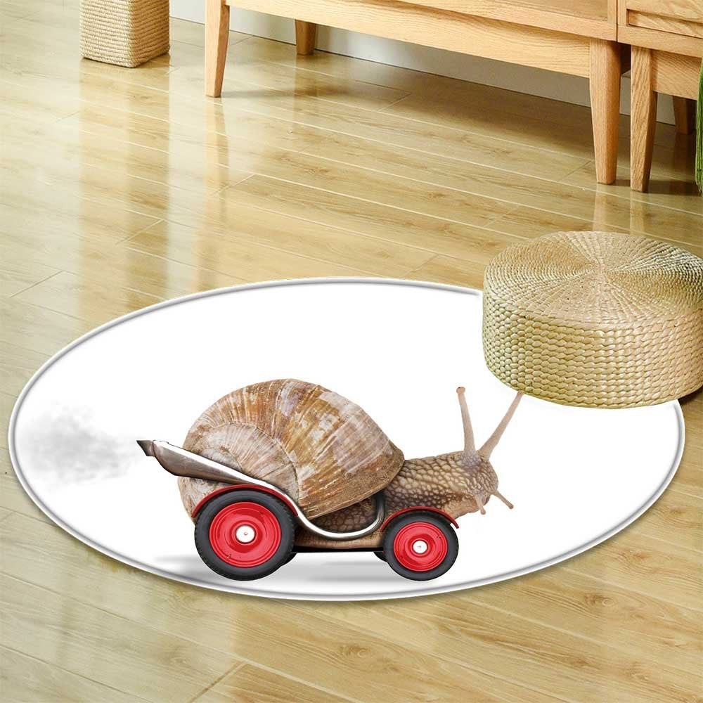 Speedy snail like car racer