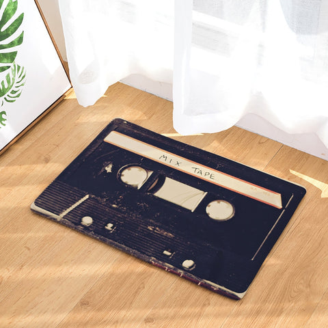 Cassette Tape Indoor Doormat