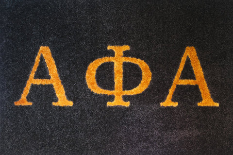 Alpha Kappa Alpha Green with pink letters