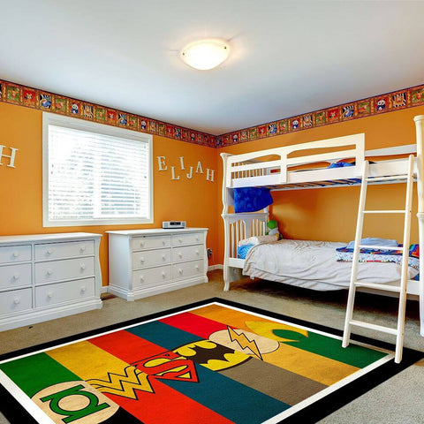 Modern Thicken Round Carpets For kids