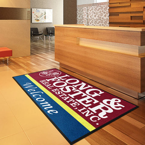 RE/MAX Real Estate Logo Rug