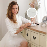 10x lighted makeup mirror