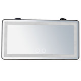 Wholesales sun visor vanity lighting mirror dual color for car