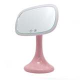 Blue tooth Speaker LED lights mirror lamp with 10X magnification
