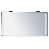 sun visor vanity lights mirror dual color