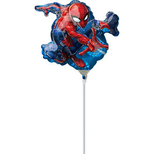 "Mini Shape ""Spider-Man"" Folienballon ,, 17 x 25cm"