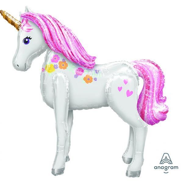 AirWalker Magical Unicorn Folienballon 106 x 116cm