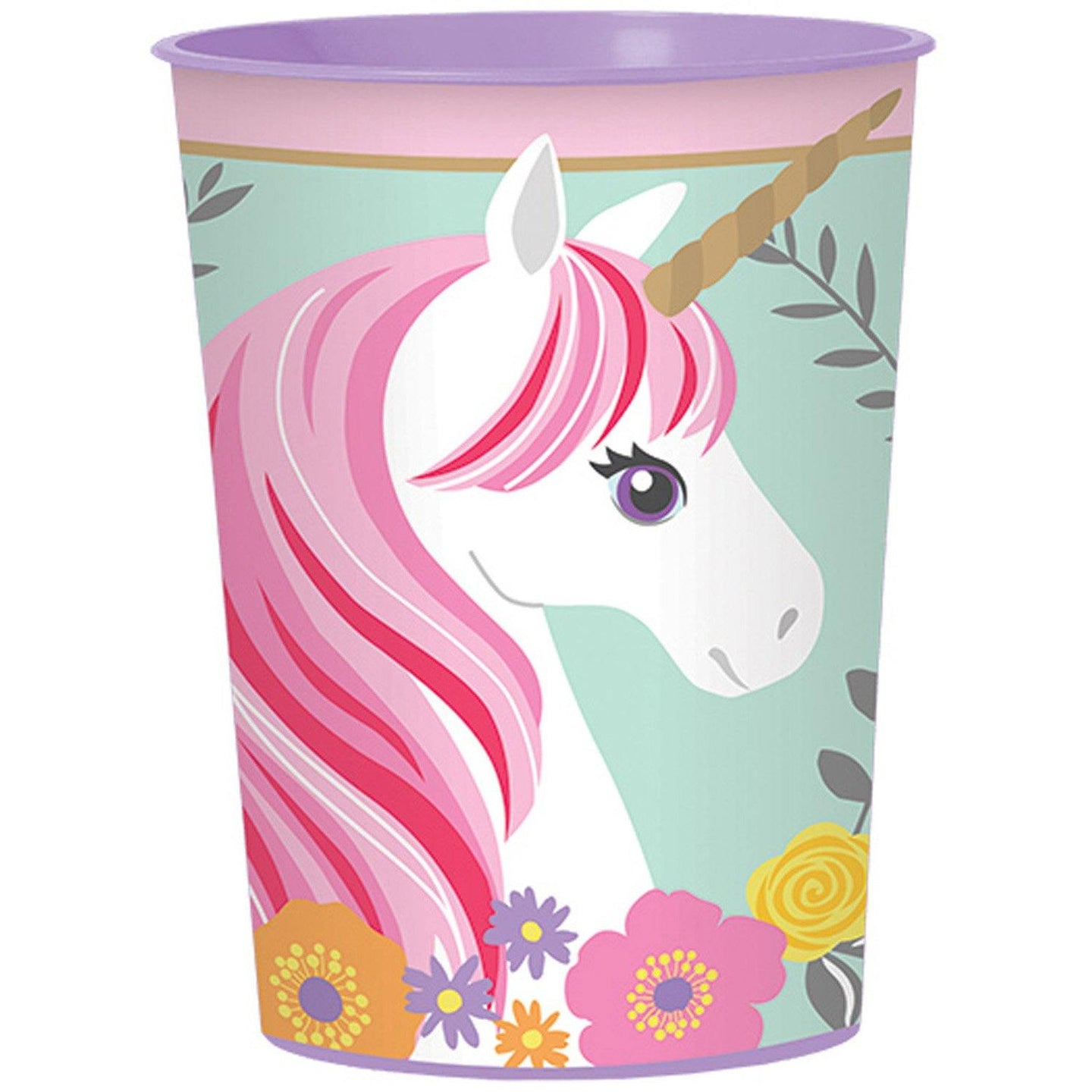 Becher Magical Unicorn Plastik 473 ml