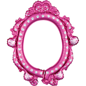 Selfie Frame Disney Princess Folienballon