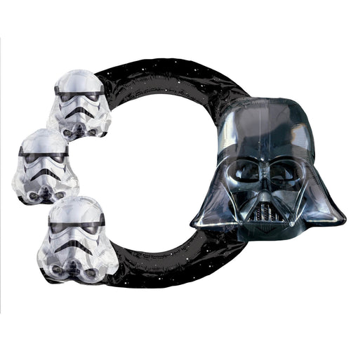 Selfie Frame Star Wars Folienballon