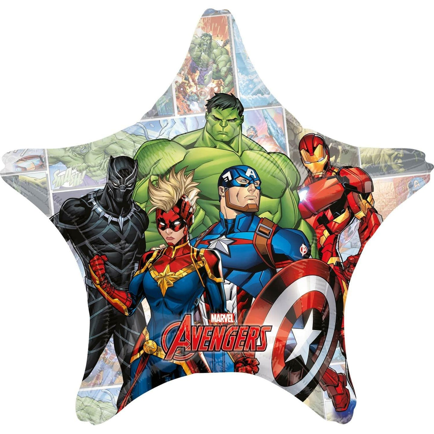 Jumbo Marvel Avengers Power Unite Folienballon