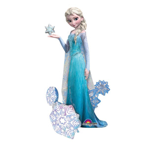 AirWalker Frozen Elsa the Snow Queen Folienballon 88 x 144 cm